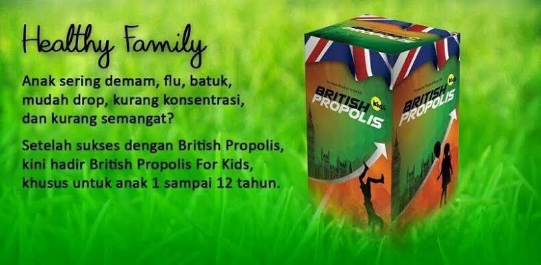 Manfaat British Propolis Kids untuk Anak dan Bedanya dengan yang Reguler